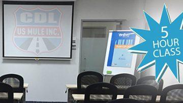 5 Hour Class Pre-licensing DMV (MV-278)