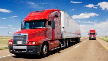 Highway Driving Truck